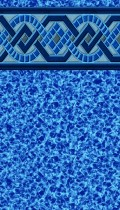 Captiva Blue inground pool liner pattern 30 gauge for a 20 gauge price great deal