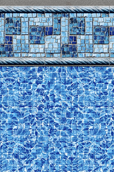 In Ground Pool Liner Patterns Ez Pool Liner Direct