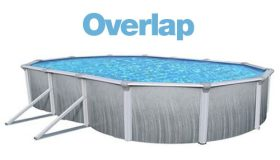 Above Ground Oval 16 x 32 Ft. Overlap Liner