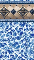 Bayview inground pool liner pattern in 20 or 30mil
