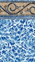Siesta Wave inground pool liner pattern in 20 or 30mil
